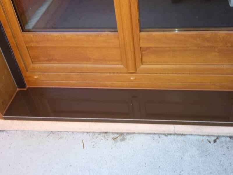 soubassement de fenêtres imitation bois à toulon