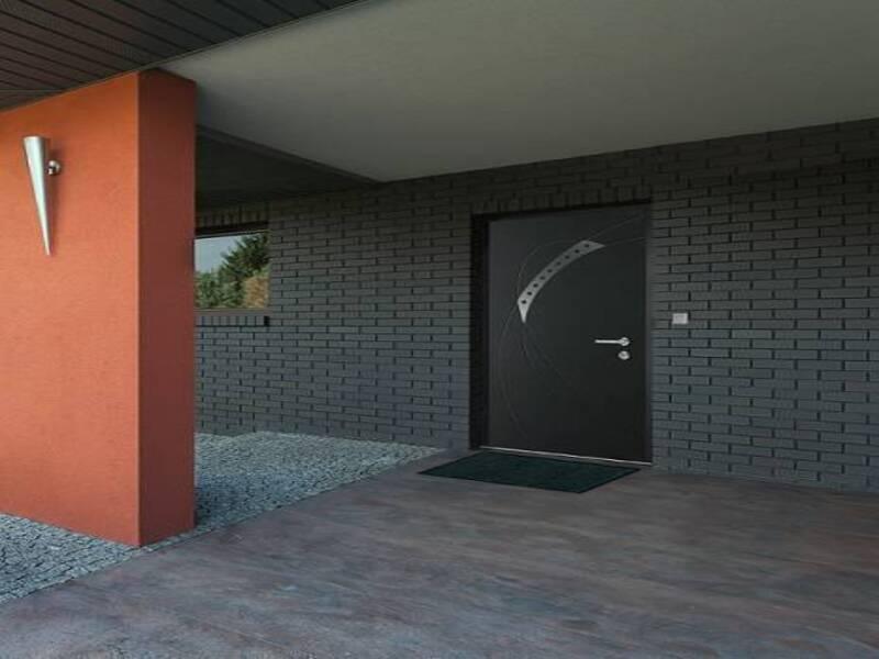 Pose d'une porte modèle DIAMAND à Brignoles
