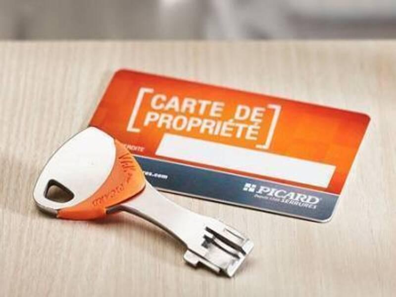clef vigie et sa carte de propriété