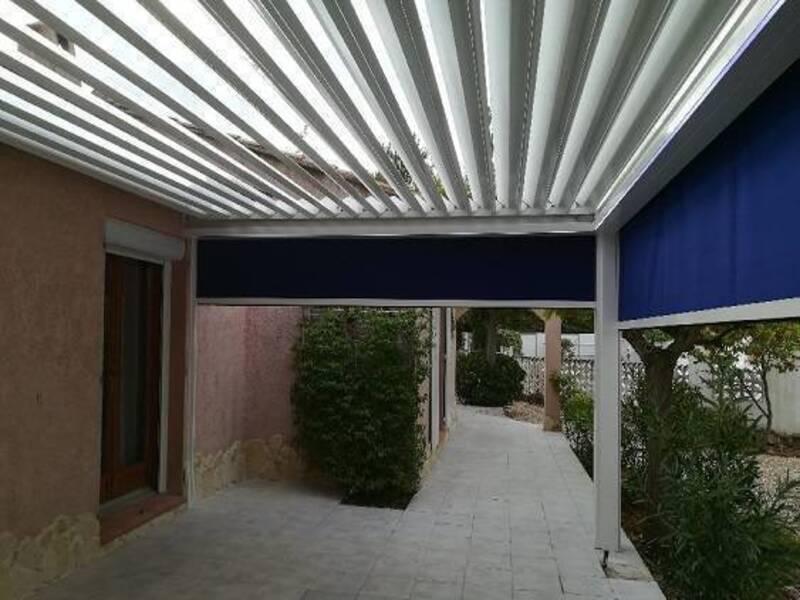 Nouveau à Rocbaron installation d'une pergola Bioclimatique par Techni'RénoV