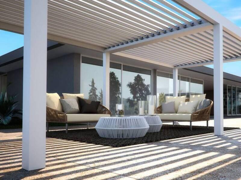 Installation d'une pargola bioclimatique aux alentours de Toulon